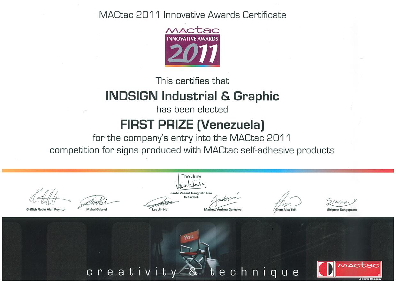 MACTAC Innovative Awards 2011